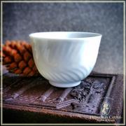 """Tasse """"neige de Sapporo"""" porcelaine japonaise Satsuma*"""
