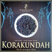 Tamil Nadu, Korakundah thé noir bio