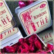 Bonbons parfumés au thé