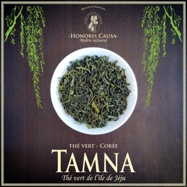 Corée Tamna thé vert Bio