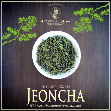 Corée Jeoncha thé vert bio