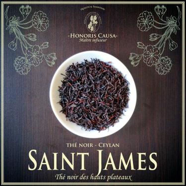Ceylan Saint James thé noir op1