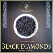 Assam black diamonds thé noir bio