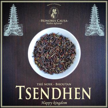 Bhoutan Tsendhen thé noir