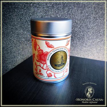 Boîte Capucine platine, 125gr