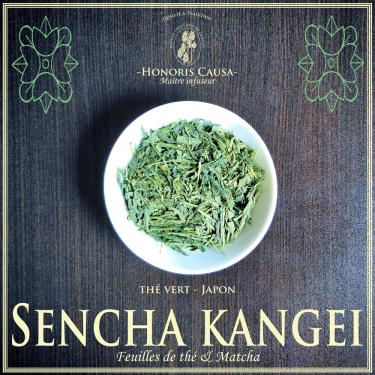 Sencha kangei thé vert bio