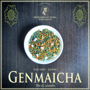 Genmaïcha thé vert bio