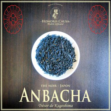 Anbâcha thé noir Bio du Japon