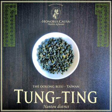 Tung ting thé bleu semi-oxydé