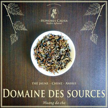 Domaine des sources thé jaune
