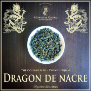 Dragon de nacre thé bleu oolong