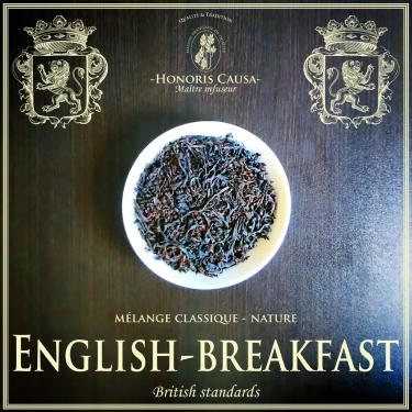 English-breakfast thé noir bio