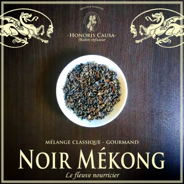 Noir Mékong, thé noir matin