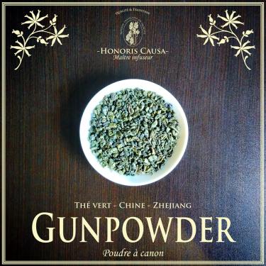 Gunpowder thé vert bio