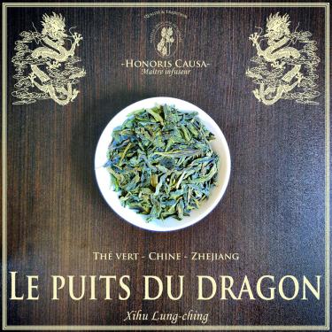 Puits du dragon thé vert bio