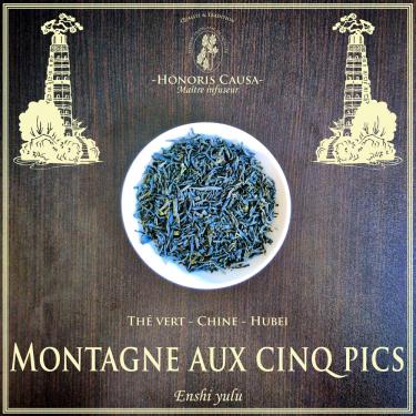 Montagne aux cinq pics thé vert bio