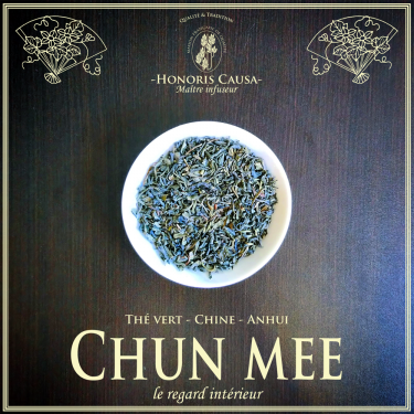 Chun mee thé vert bio