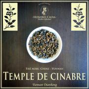 Temple de cinabre, thé noir