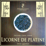 Licorne de platine thé noir bio
