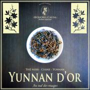 Yunnan d'or thé noir Chine