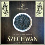 Szechwan thé noir Chine