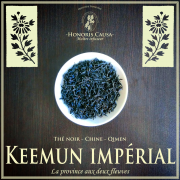 Keemun impérial thé noir bio Chine