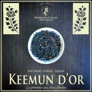 Keemun d'or thé noir Chine