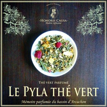 Le Pyla thé vert biologique