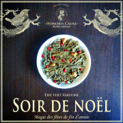 Soir de Noël,  thé vert bio