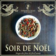 Soir de Noël thé bleu oolong