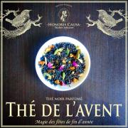 Thé de l'Avent, thé noir bio