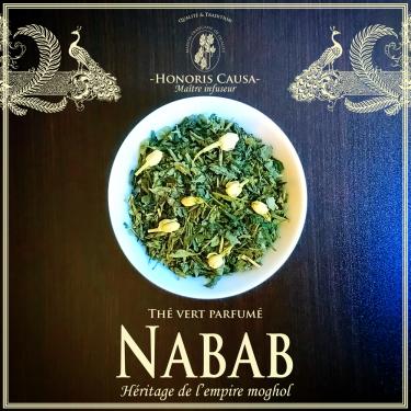 Nabab thé vert biologique