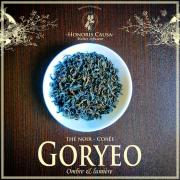 Goryeo Corée thé noir Bio