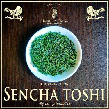 Sencha toshi thé vert bio