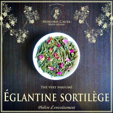 églantine sortilège thé vert