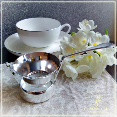Passoire à thé Victoria argenté