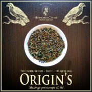 Darjeeling ORIGIN'S thé noir bio