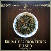 Brume des frontières du sud, thé noir bio