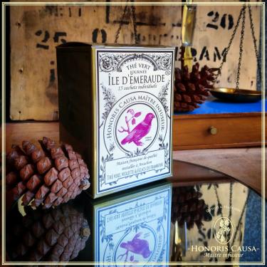 Île d'émeraude, thé vert sachets individuels