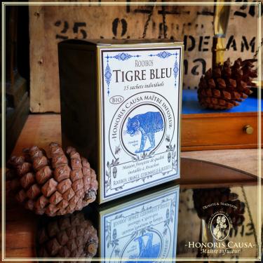 Tigre bleu rooibos bio, sachets individuels