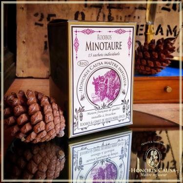 Minotaure, Sachets individuels rooibos parfumé biologique