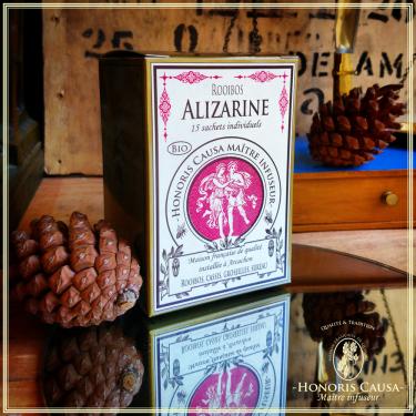 Alizarine, rooibos bio sachets individuels