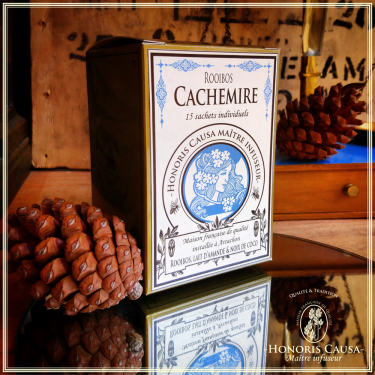Cachemire rooibos, sachets individuels