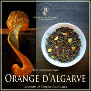 Orange d'Algarve, thé noir biologique