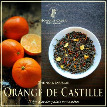 Orange de Castille thé noir bio