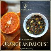 Orange andalouse, thé noir biologique