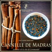 Cannelle de Madras thé noir
