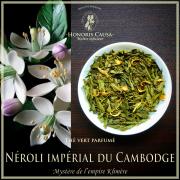 Néroli impérial du Cambodge, thé vert