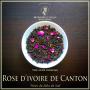 Rose d'ivoire de Canton, thé noir bio