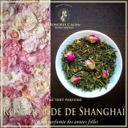 Rose de jade de Shanghaï, thé vert